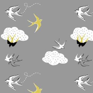 cloudy flight