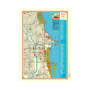 *chicago map paper